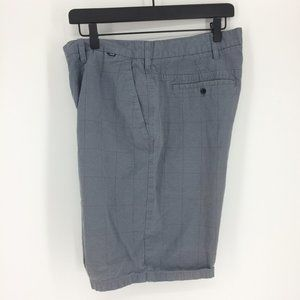 Hurley Shorts - Hurley Striped Gray Surf Boardshorts Mens 36